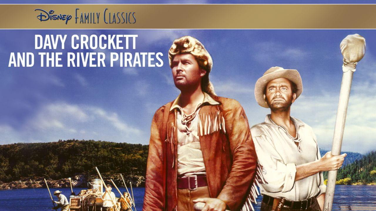 Деві Крокет і річкові пірати дивитися онлайн