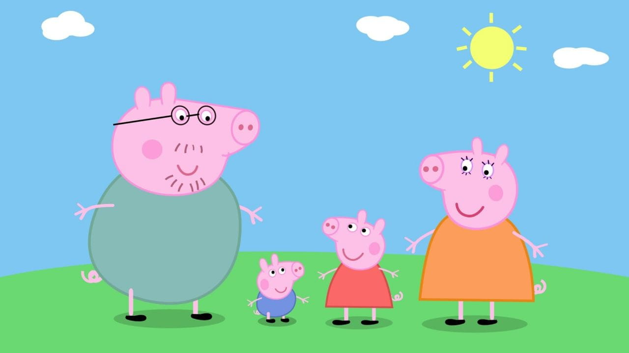 Свинка Пеппа дивитися онлайн