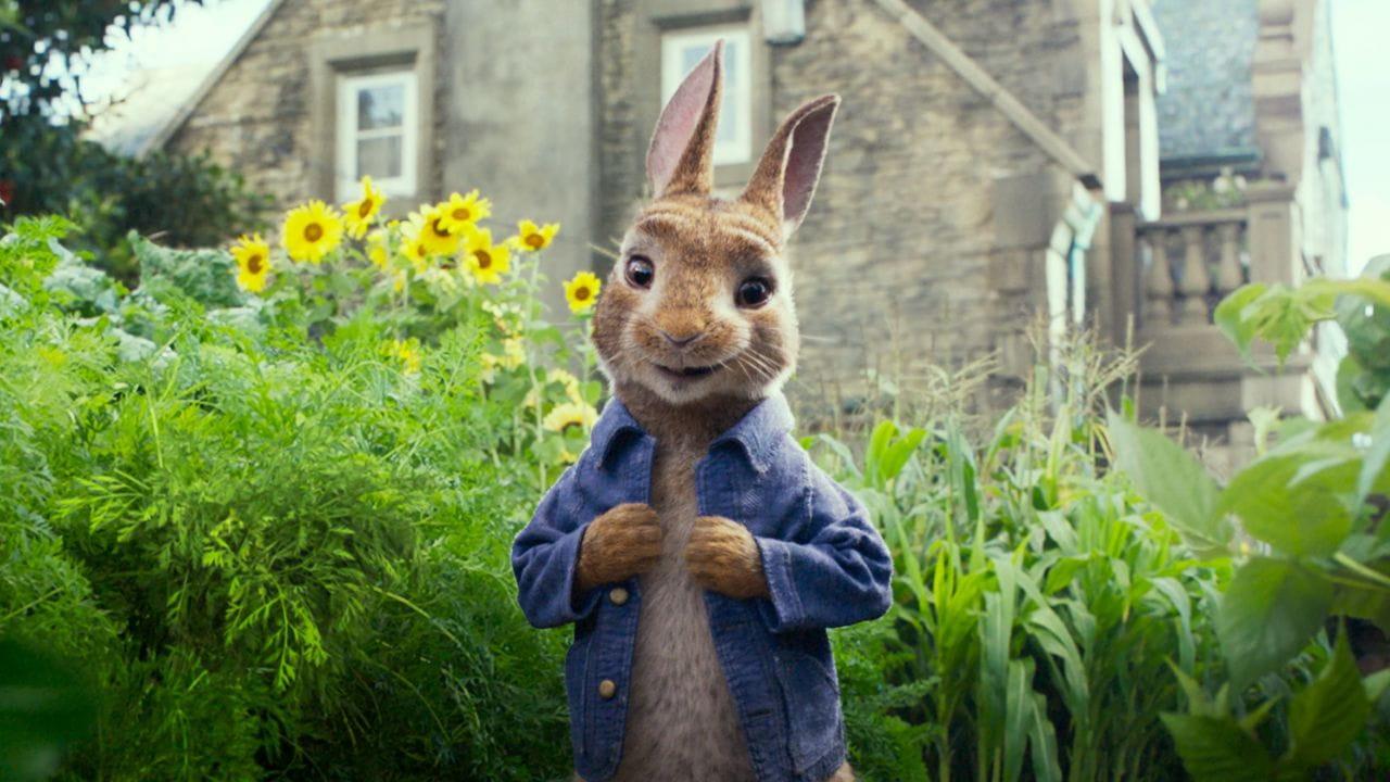 Кролик Петрик дивитися онлайн